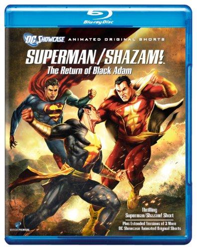 Superman/Shazam: The Return of Black Adam (DC Showcase) [Blu-ray]