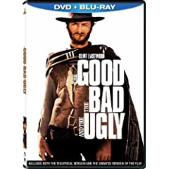 The Good, the Bad and the Ugly (Two-Disc Blu-ray/DVD Combo in DVD Packaging)