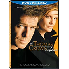 The Thomas Crown Affair (Two-Disc Blu-ray/DVD Combo in DVD Packaging)