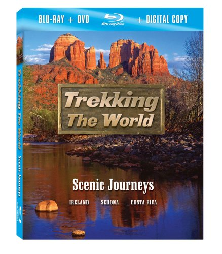 Trekking the World: Scenic Journeys [Blu-ray plus DVD and Digital Copy]