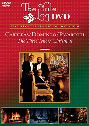 Three Tenors Christmas (The Yule Log DVD)