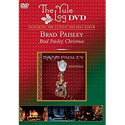 Brad Paisley Christmas (The Yule Log DVD)