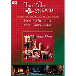 Elvis Christmas (The Yule Log DVD)