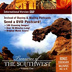 Treasures of The Southwest-DVD Postcard [Interactive DVD]