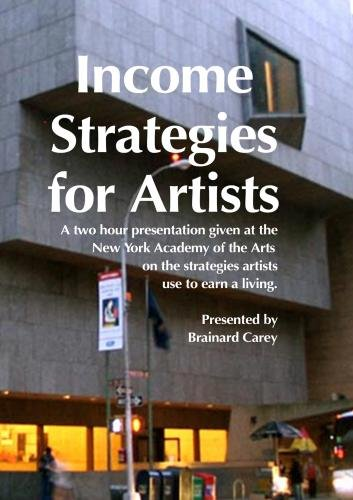 Income Strategies For Artists