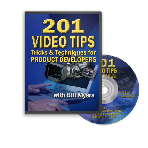 201 Video Tips & Techniques for Product Developers and Web Marketers