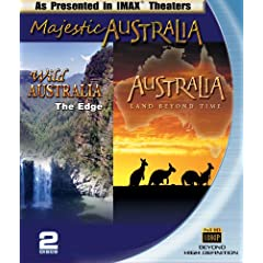 Majestic Australia (IMAX Australia 2-pack Wild Australia and Australia, Land Beyond Time) [Blu-ray]