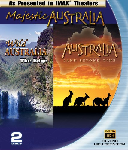 Majestic Australia (IMAX Australia 2-pack Wild Australia and Australia, Land Beyond Time) [Blu-ray]