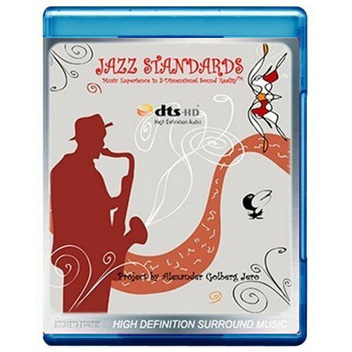 Jazz Standards: Music Experience in 3-Dimensional Sound Reality [5.1 DTS-HD Master Audio/Video Disc] [2008] [Blu-ray]
