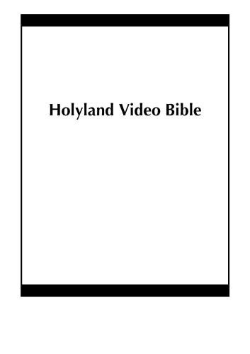 Holyland Video Bible