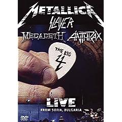 Metallica / Slayer / Megadeth / Anthrax - The Big 4: Live From Sofia Bulgaria (2DV)