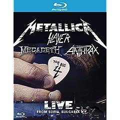Metallica/Slayer/Megadeth/Anthrax: The Big 4 - Live from Sofia, Bulgaria [Blu-ray]