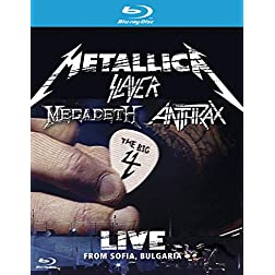 Metallica/Slayer/Megadeth/Anthrax: The Big 4 - Live from Sofia, Bulgaria [Blu-ray]
