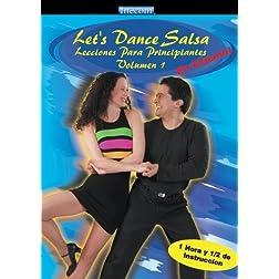 Let's Dance Salsa Lecciones Para Principiantes Volumen 1 (En Espanol)