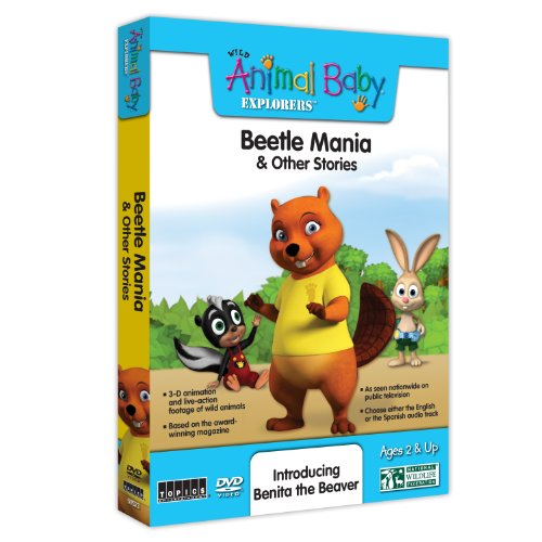 Wild Animal Baby Explorers: Beetle Mania & Other Stories