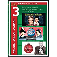 MGM Holiday Movie Collection (The Bishop's Wife / March Of The Wooden Soldiers / Pocketful Of Miracles)