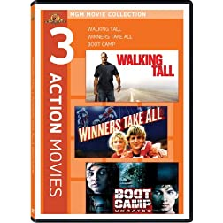 Walking Tall/Winners Take All/Boot Camp