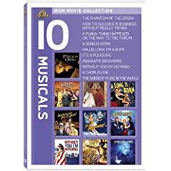 MGM Musical Movie Collection (10 Films)