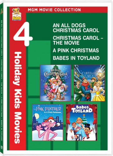MGM Holiday Movie Collection (An All Dogs Christmas Carol / Christmas Carol--The Movie / A Pink Christmas / Babes in Toyland)