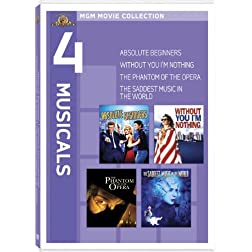 MGM Musicals Collection (Absolute Beginners / Without You I'm Nothing / The Phantom of the Opera / The Saddest Music in the World)