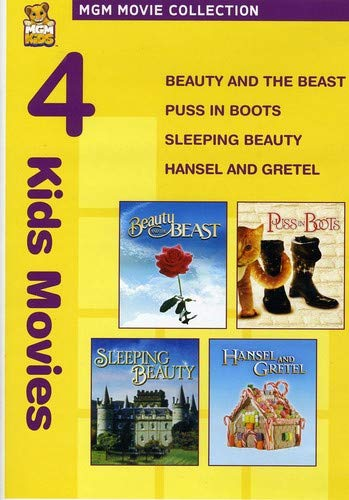 Beauty And The Beast/Puss In Boots/Sleeping Beauty/Hansel And Gretel