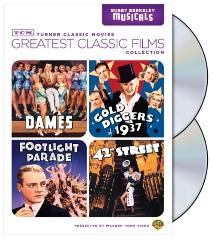 TCM Greatest Classic Film Collection: Busby Berkeley (Dames / Gold Diggers of 1937 / Footlight Parade / 42nd Street)