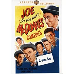 Joe McDoakes Shorts  (63 Shorts 1942-1956) (6 Discs)