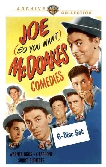 Joe McDoakes Shorts  (63 Shorts 1942-1956) (6 Discs)