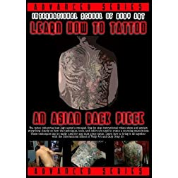Learn How To Tattoo An Asian Back Piece - Step by Step Instructional DVD Video