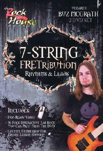 Buz McGrath of Unearth, 7-String Fretribution Rhythym & Leads