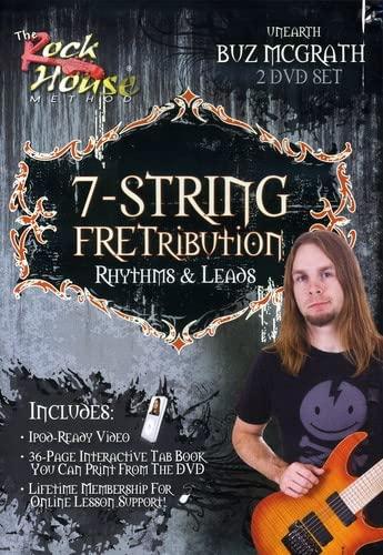 Buz McGrath of Unearth, 7-String Fretribution Rhythym & Leads