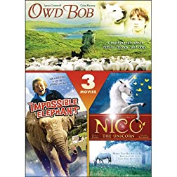 Owd Bob / The Impossible Elephant / Nico the Unicorn