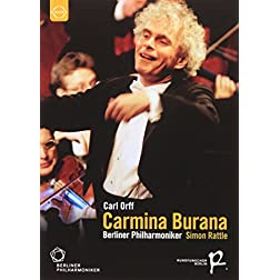 Rattle conducts Carmina Burana, Leonore Overture, Hallelujah Chorus