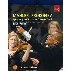 Lucerne Fest / Mahler Sym 1/ Prokofiev Piano Cto 3 [Blu-ray]