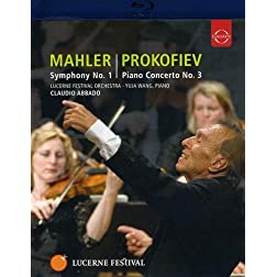 Lucerne Fest / Mahler Sym 1/ Prokofiev Piano Cto 3 [Blu-ray]