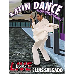 Live at Broadway Dance Center - Latin Dance -Plena- with Luis Salgado