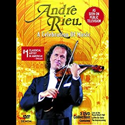 Andre Rieu: A Celebration of Music 3DVD Set (Slip Case)