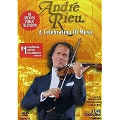 Andre Rieu: A Celebration of Music 3DVD Set (Slimline)