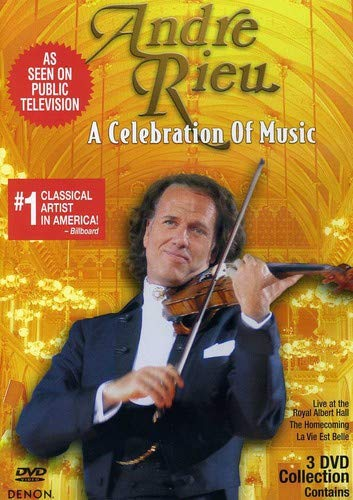Andre Rieu: A Celebration of Music 3DVD Set (Slimline)