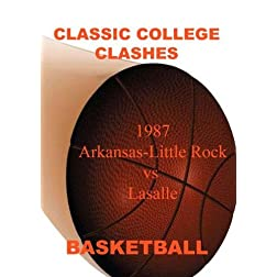 1987 Arkansas-Little Rock vs LaSalle - Basketball