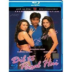 Dil to pagal hai [Blu-ray](Bollywood Movie / Indian Cinema / Hindi Film)