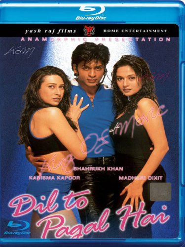 Dil to pagal hai [Blu-ray](Bollywood Movie / Indian Cinema / Hindi Film)