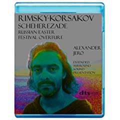 Rimsky-Korsakov: Scheherezade, Russian Easter Festival overture (Includes Alexander Jero conceptual 5.1 presentation) [7.1 DTS-HD Master Audio Disc] [Blu-ray]