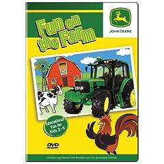 Fun on the Farm Preschool DVD