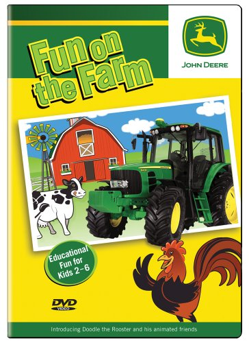 Fun on the Farm Preschool DVD