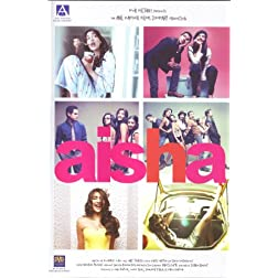 Aisha (New Comedy Hindi Film / Bollywood Movie / Indian Cinema DVD)