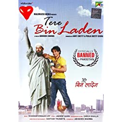 Tere Bin Laden (New Comedy Hindi Film / Bollywood Movie / Indian Cinema DVD)