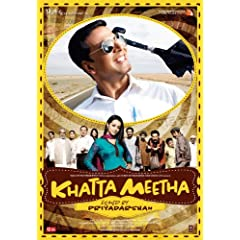 Khatta Meetha (New Comedy Hindi Film / Bollywood Movie / Indian Cinema DVD)