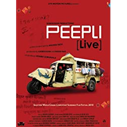 Peepli [Live] (Aamir Khan Productions - New Hindi Film / Bollywood Movie / Indian Cinema DVD)
