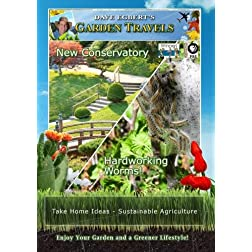 Garden Travels New conservatory hardworking worms!